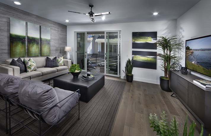 Living Area featured in the Residence 6 By Lennar in San Jose, CA