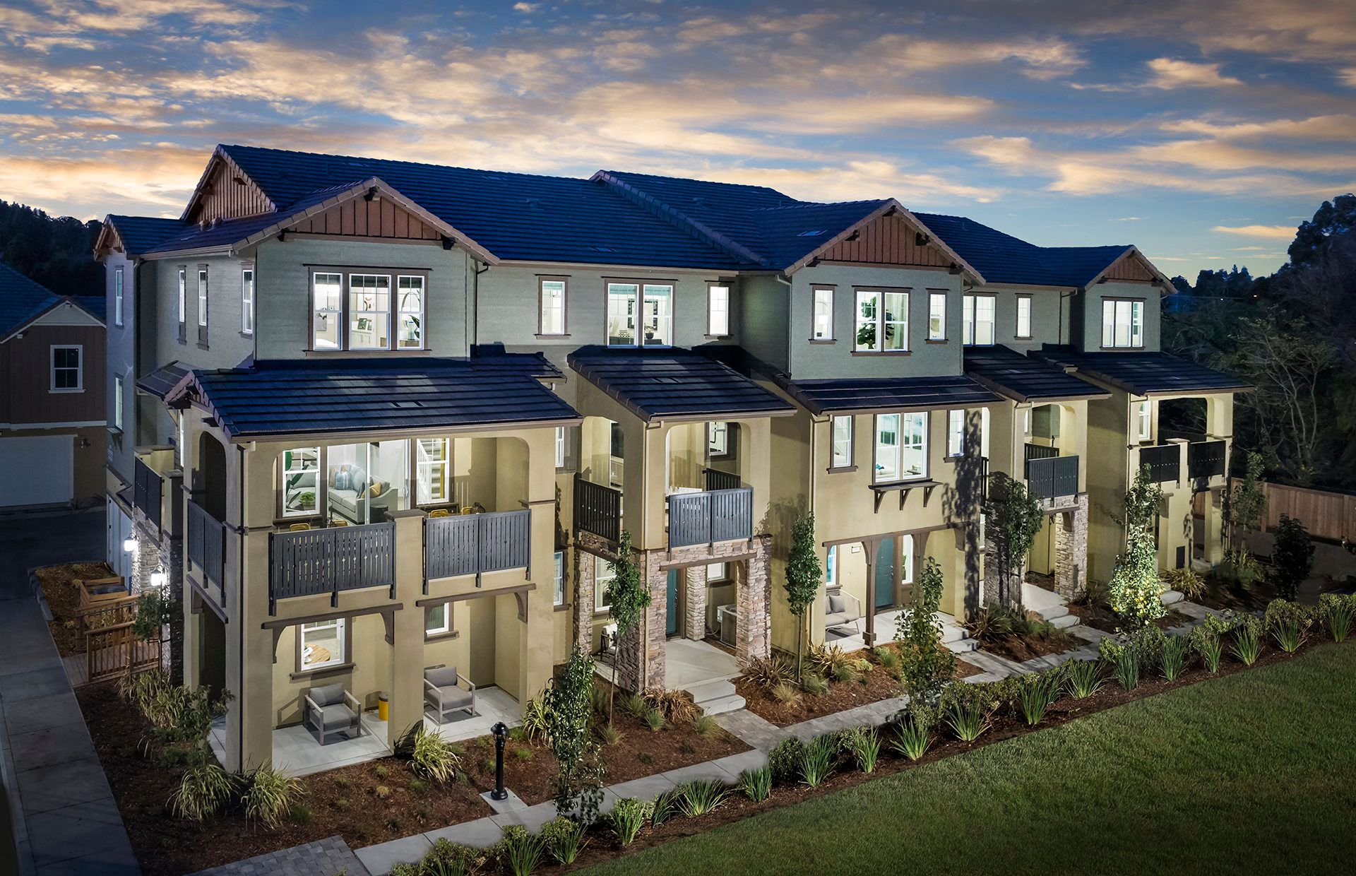 Exterior featured in the RESIDENCE ONE By Lennar in Oakland-Alameda, CA
