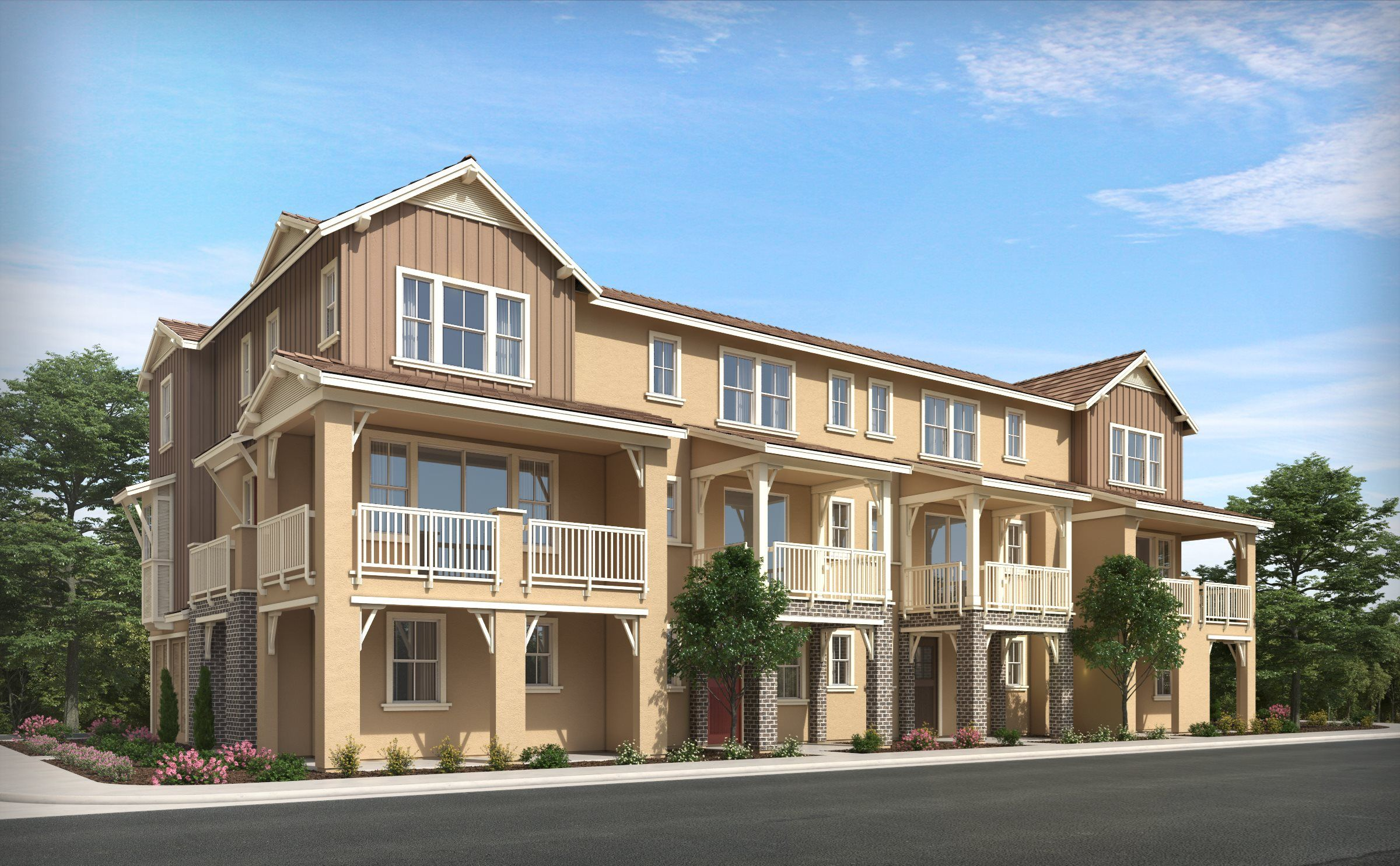 Exterior featured in the RESIDENCE THREE By Lennar in Oakland-Alameda, CA