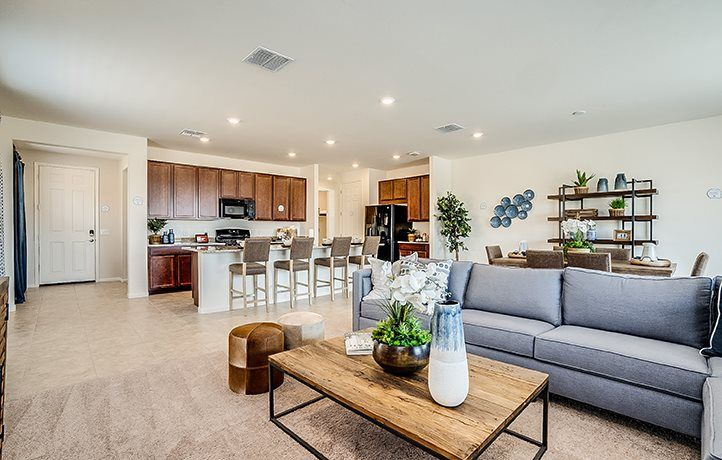 Living Area featured in the Molino By Lennar in Tucson, AZ