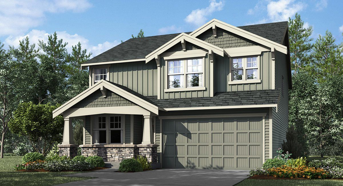 Exterior featured in the Willow By Lennar in Portland-Vancouver, WA