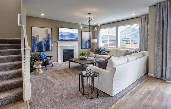 Living Area featured in the Willow By Lennar in Portland-Vancouver, WA