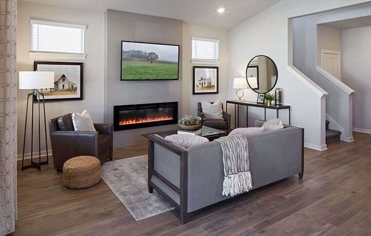 Living Area featured in the Cardwell By Lennar in Portland-Vancouver, OR