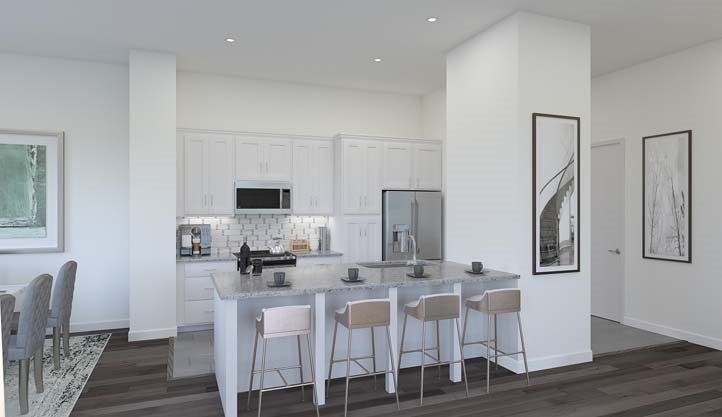 Kitchen featured in the Residence C- Claremont By Lennar in San Francisco, CA