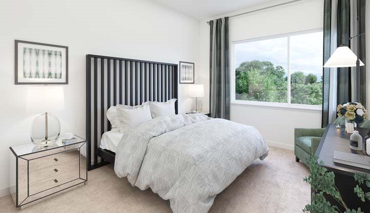Bedroom featured in the Residence C- Claremont By Lennar in San Francisco, CA