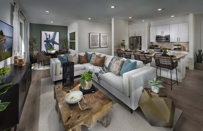 Living Area featured in the Residence A- Claremont By Lennar in San Francisco, CA