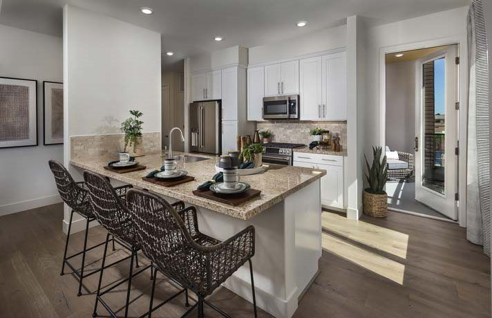 Kitchen featured in the Residence A- Claremont By Lennar in San Francisco, CA