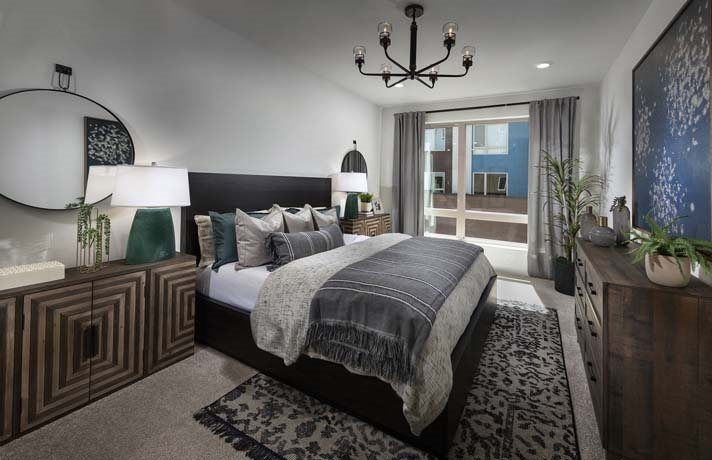 Bedroom featured in the Residence A- Claremont By Lennar in San Francisco, CA
