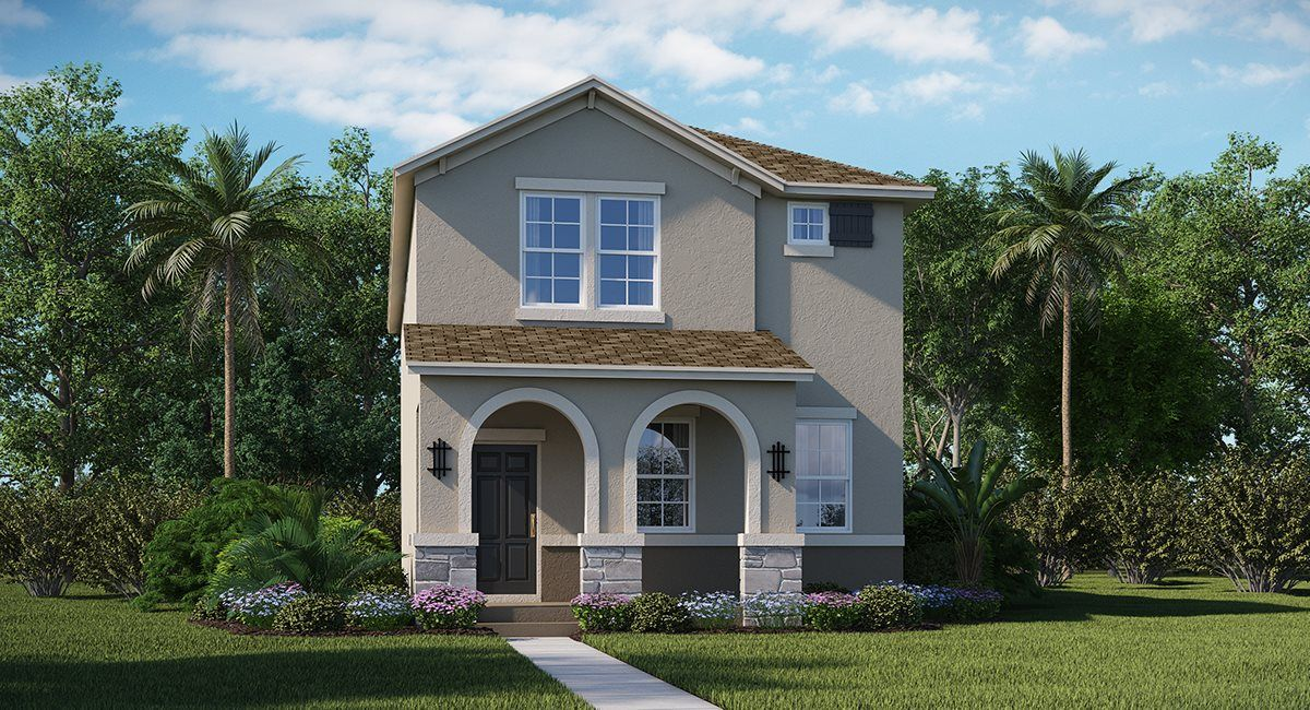 Exterior featured in the Residence 3 By Lennar in Orlando, FL
