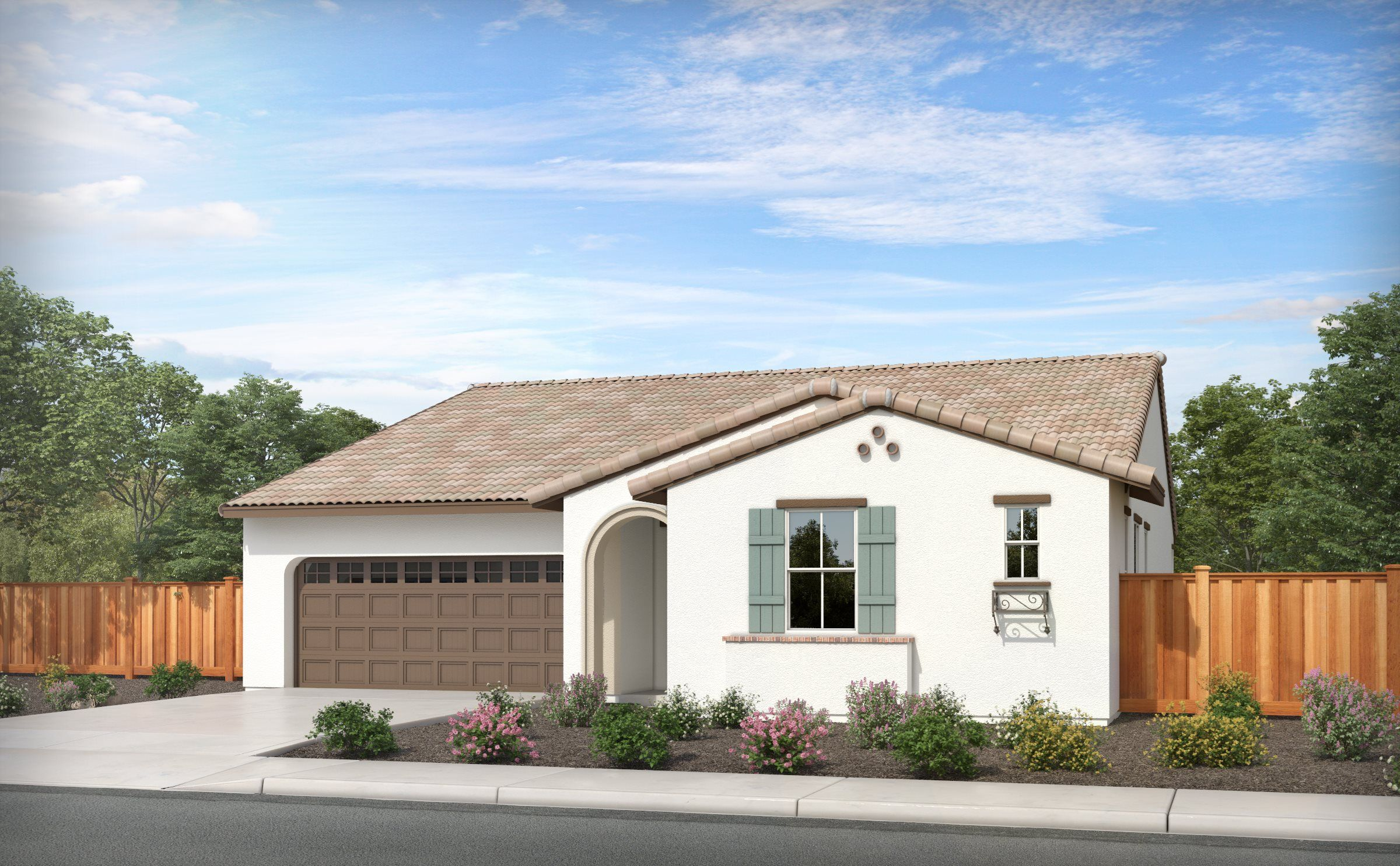 Exterior featured in the RESIDENCE ONE By Lennar in Stockton-Lodi, CA