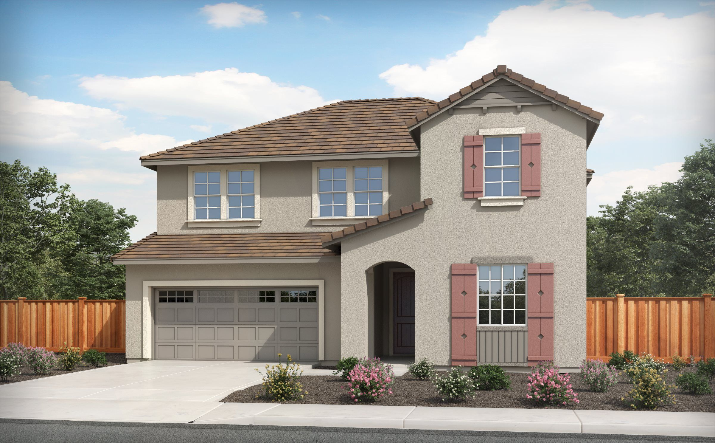 Exterior featured in the RESIDENCE FOUR By Lennar in Stockton-Lodi, CA