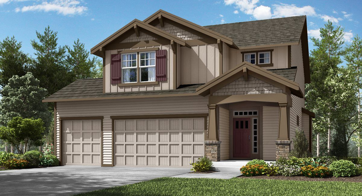 Exterior featured in the Cypress By Lennar in Portland-Vancouver, WA