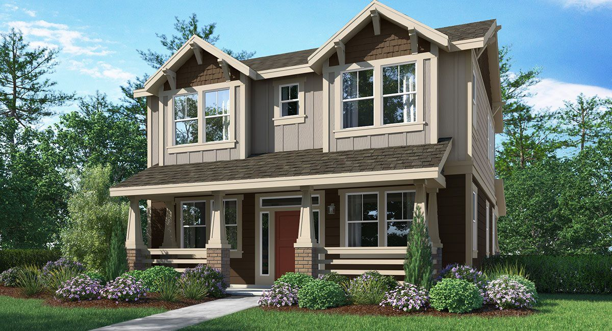 'Reed's Crossing - The Monarch Collection' by Lennar - Portland Homebuilding in Portland-Vancouver
