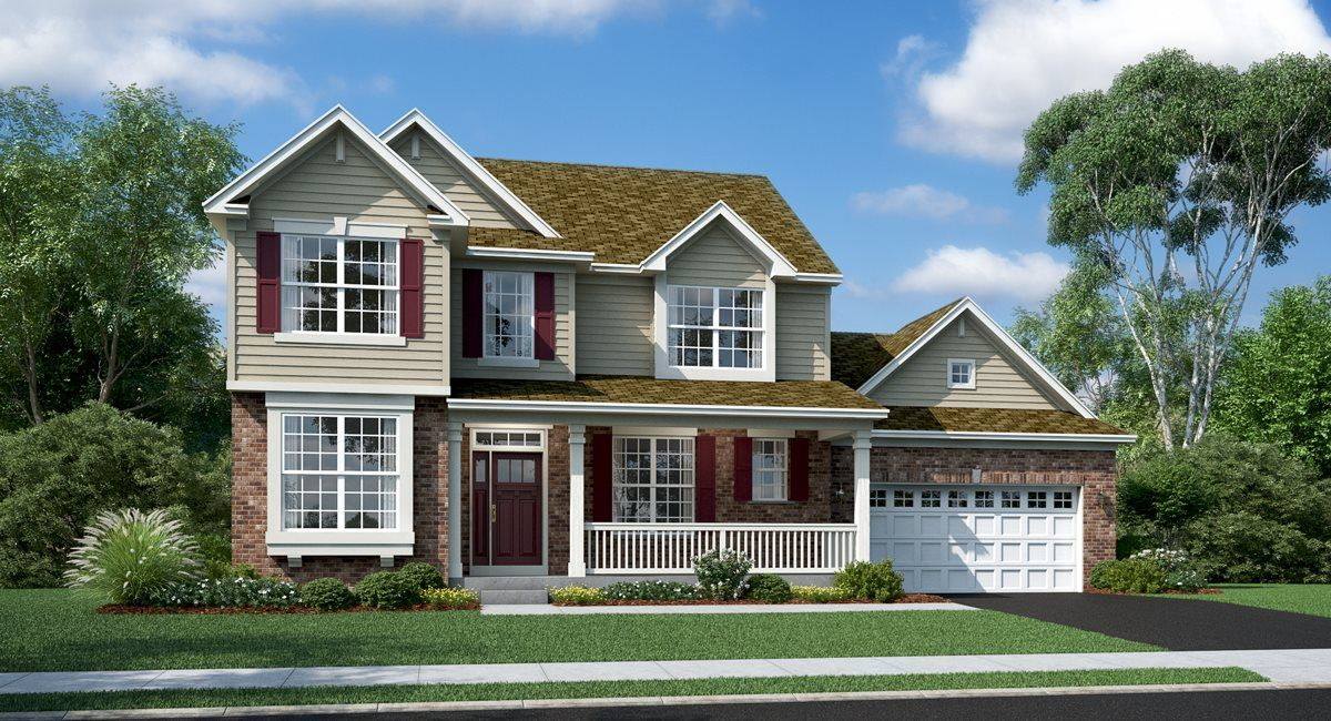 Exterior featured in the Auburn ei By Lennar in Chicago, IL
