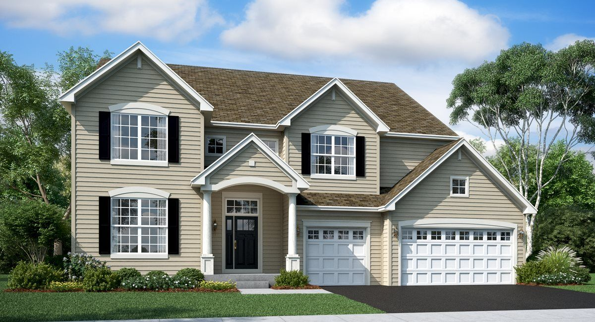 Exterior featured in the Oxford ei By Lennar in Chicago, IL