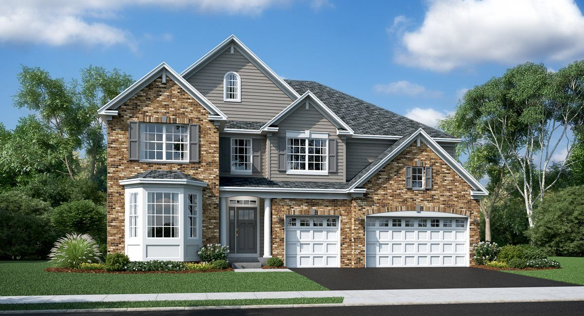 Exterior featured in the Newcastle ei By Lennar in Chicago, IL