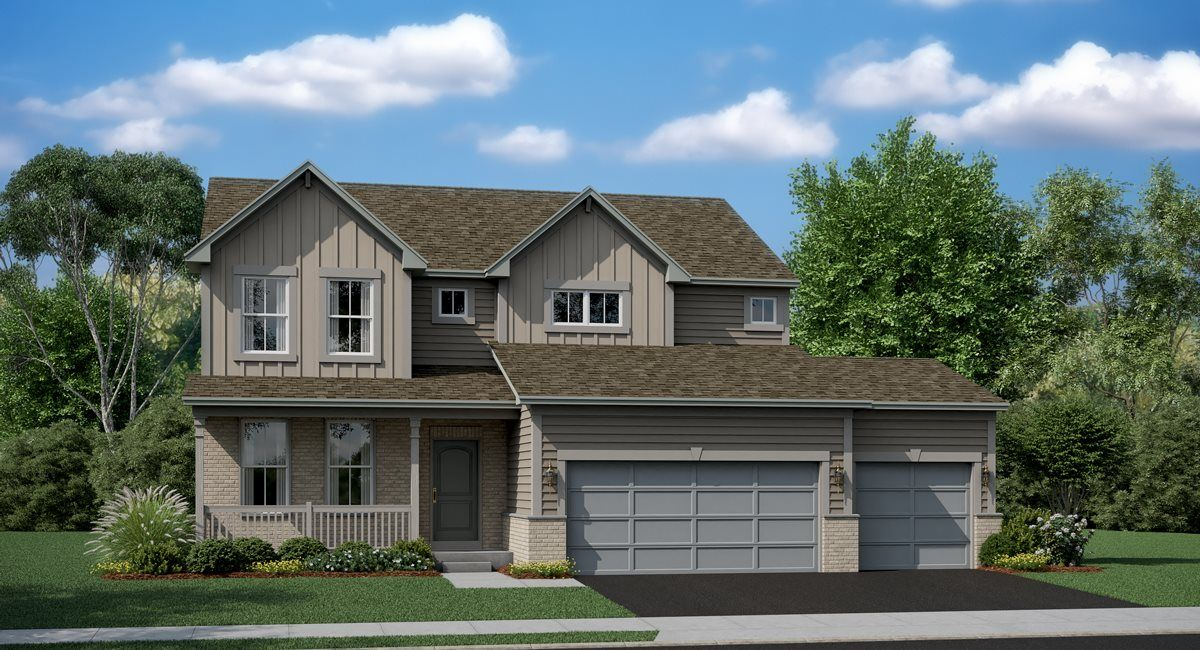 Exterior featured in the Monet ei By Lennar in Chicago, IL
