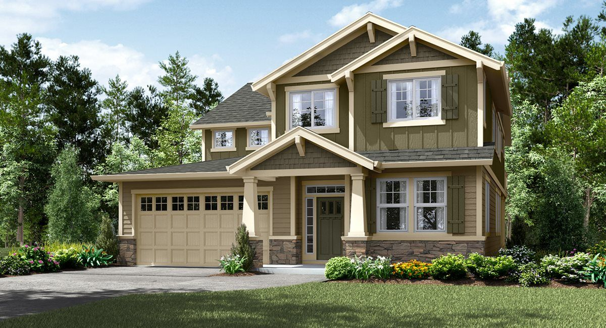 Exterior featured in the Sellwood By Lennar in Portland-Vancouver, OR