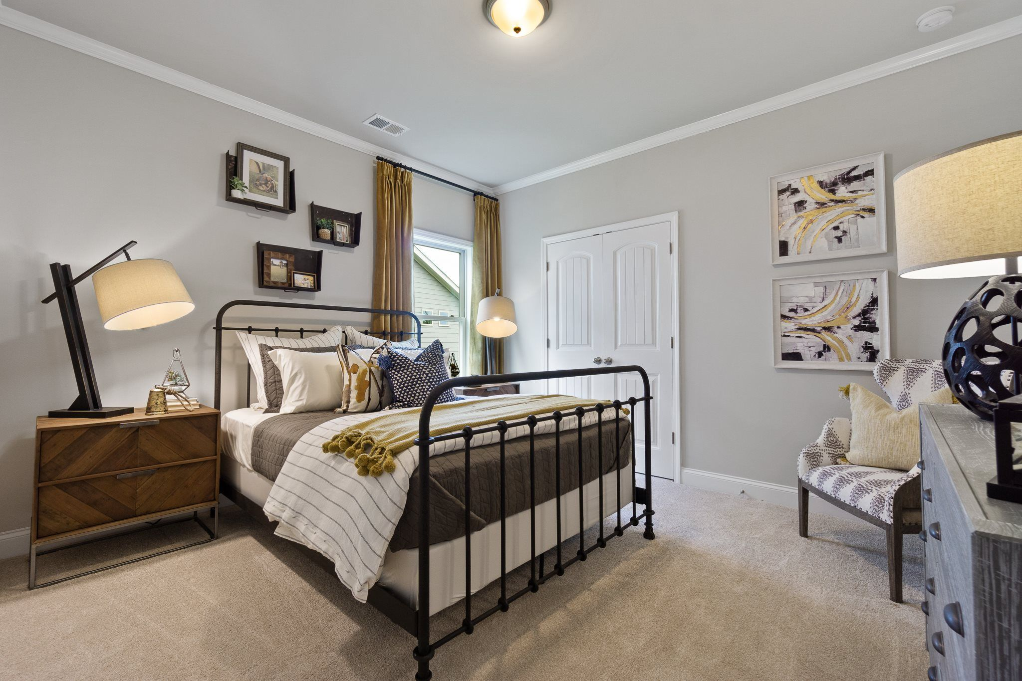 Bedroom featured in the Crestwood By Lennar in Atlanta, GA