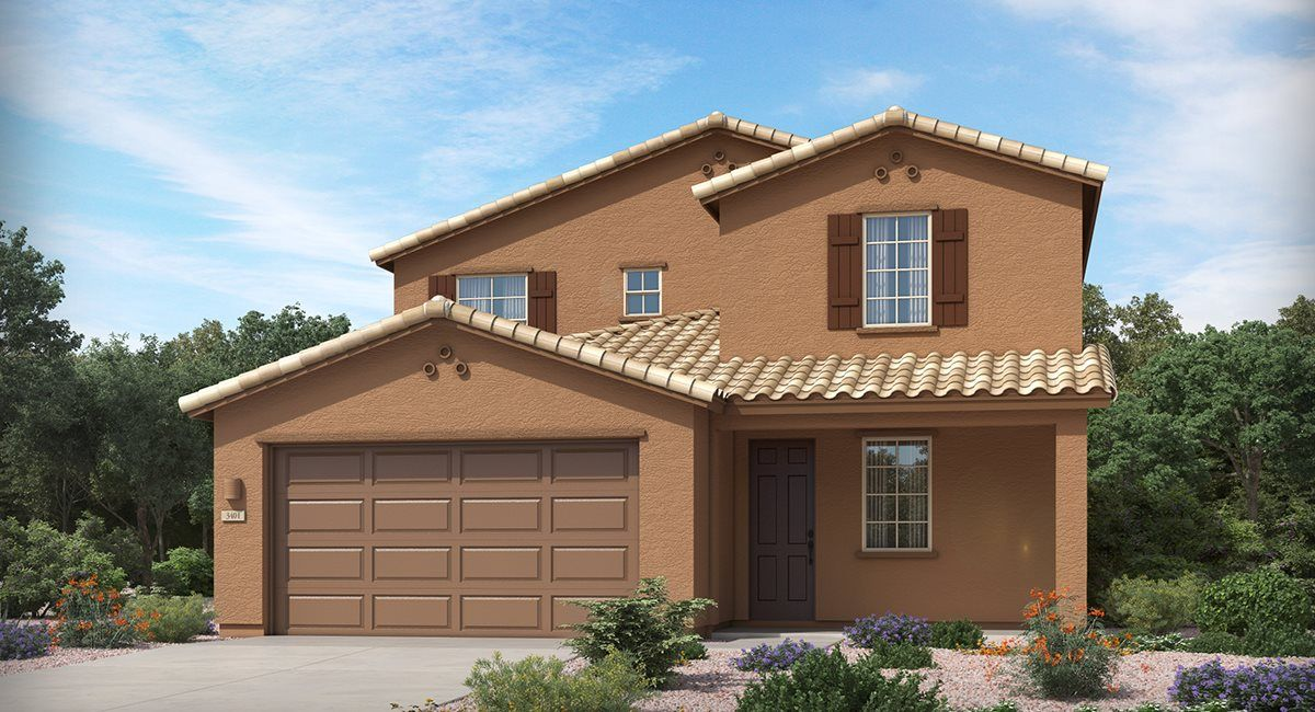 Exterior featured in the Desert Willow By Lennar in Tucson, AZ