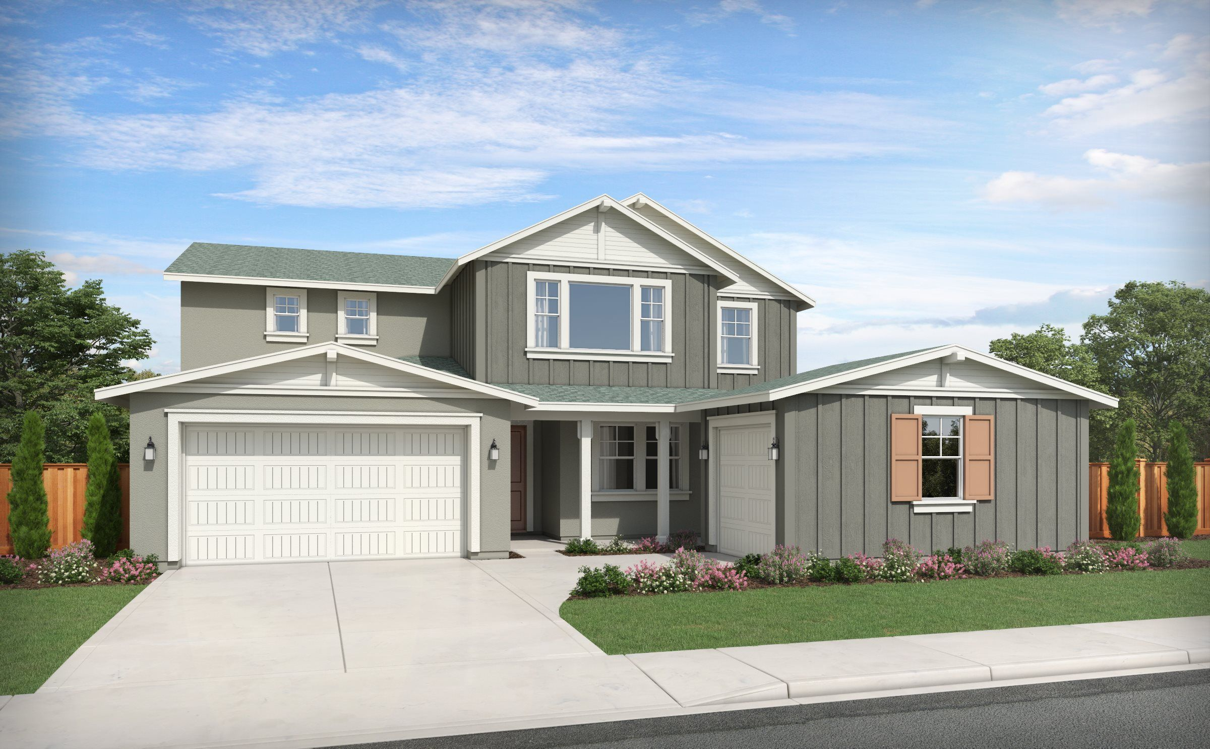 Exterior featured in the Residence Four - NEXT GEN By Lennar in Stockton-Lodi, CA