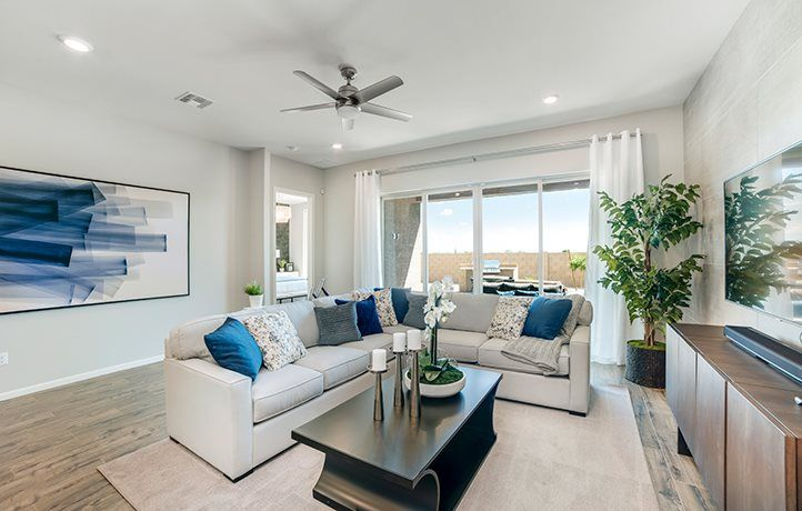Living Area featured in the Rincon By Lennar in Tucson, AZ