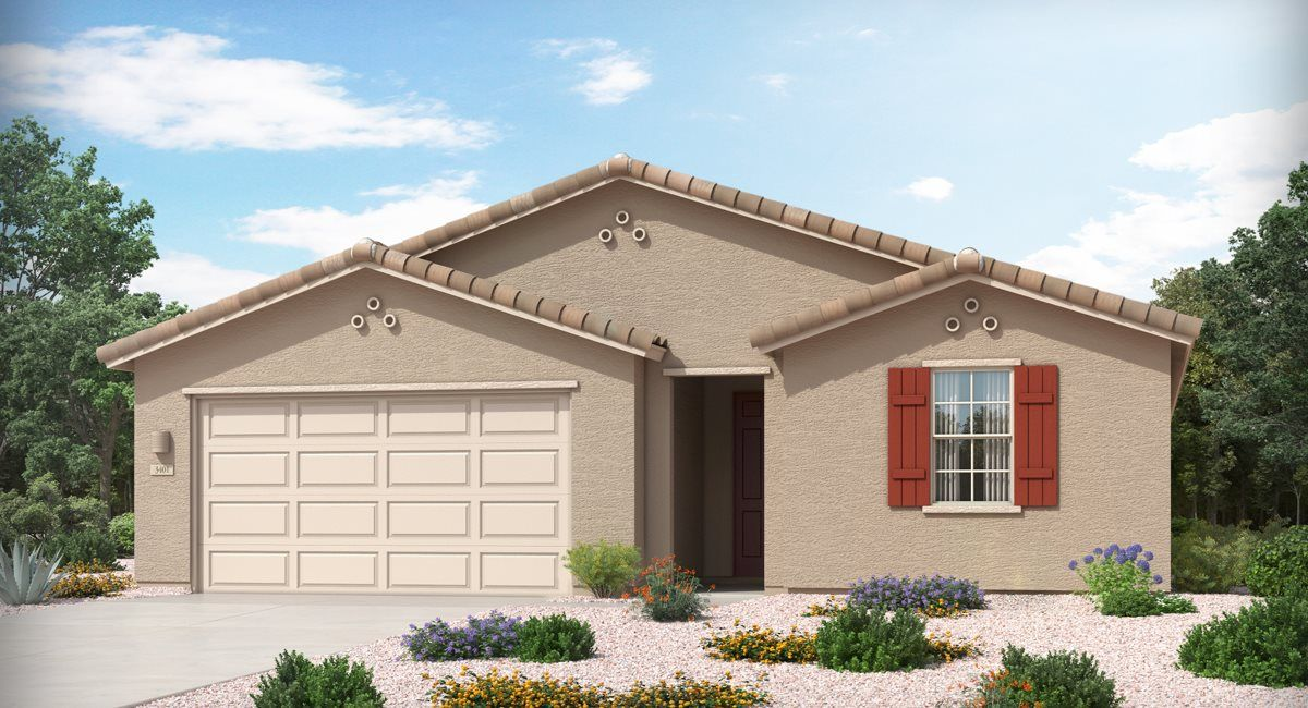 Exterior featured in the Pima By Lennar in Tucson, AZ