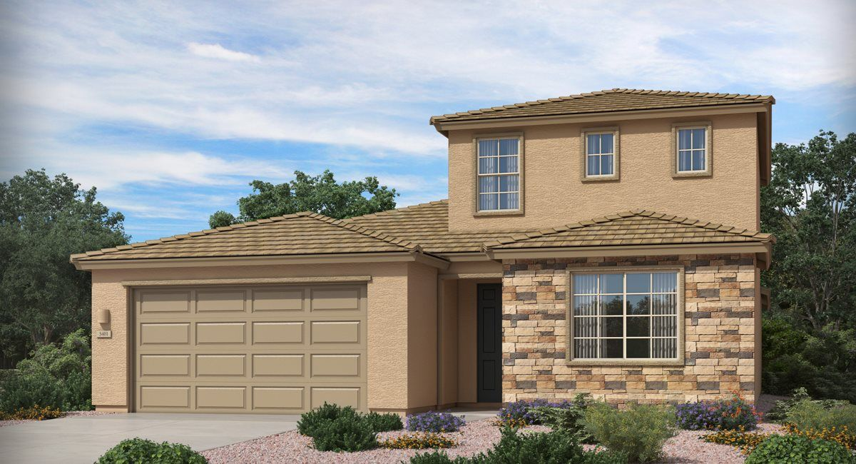 Exterior featured in the Sabino By Lennar in Tucson, AZ