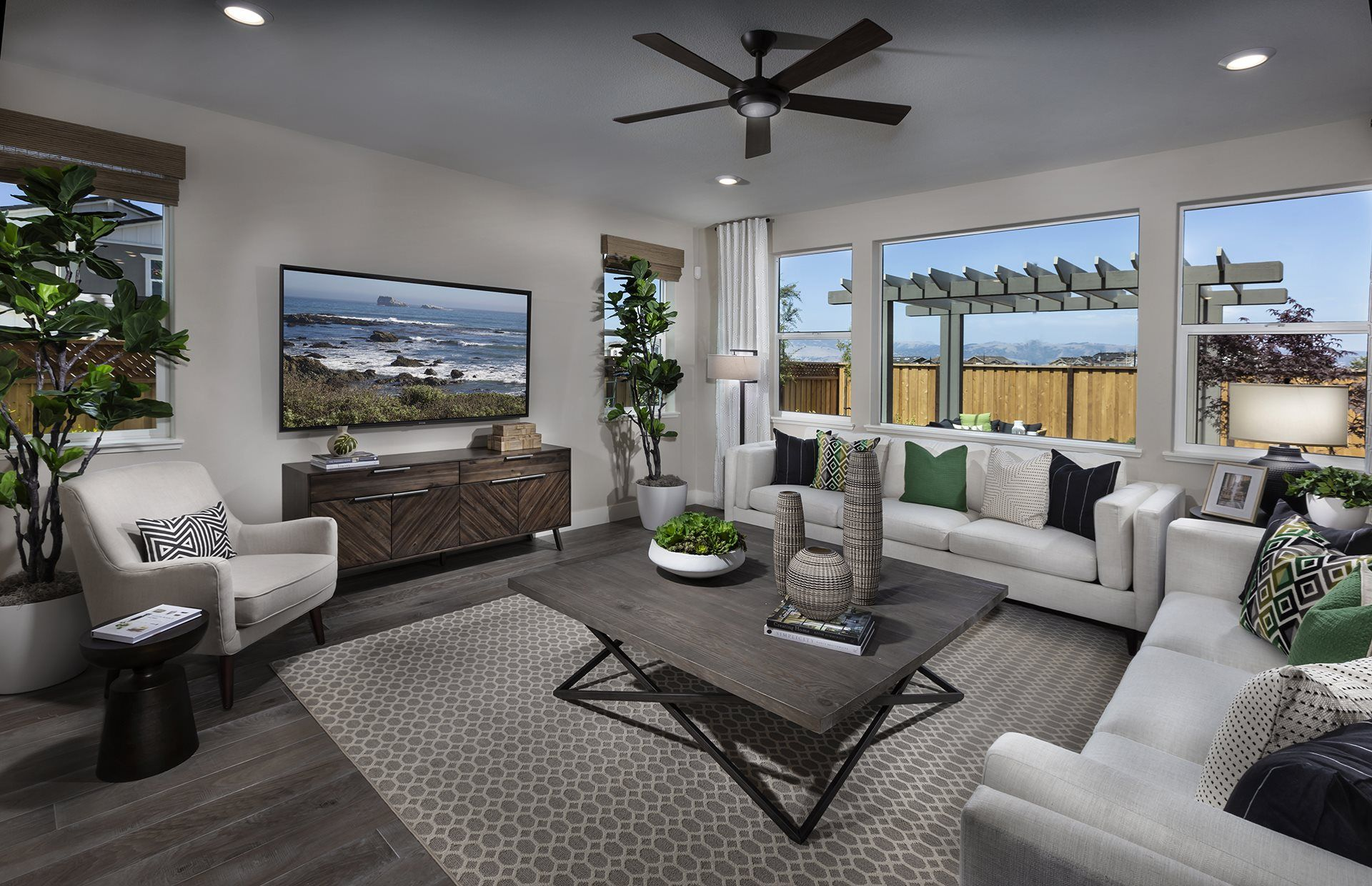 Living Area featured in the RESIDENCE ONE By Lennar in San Jose, CA