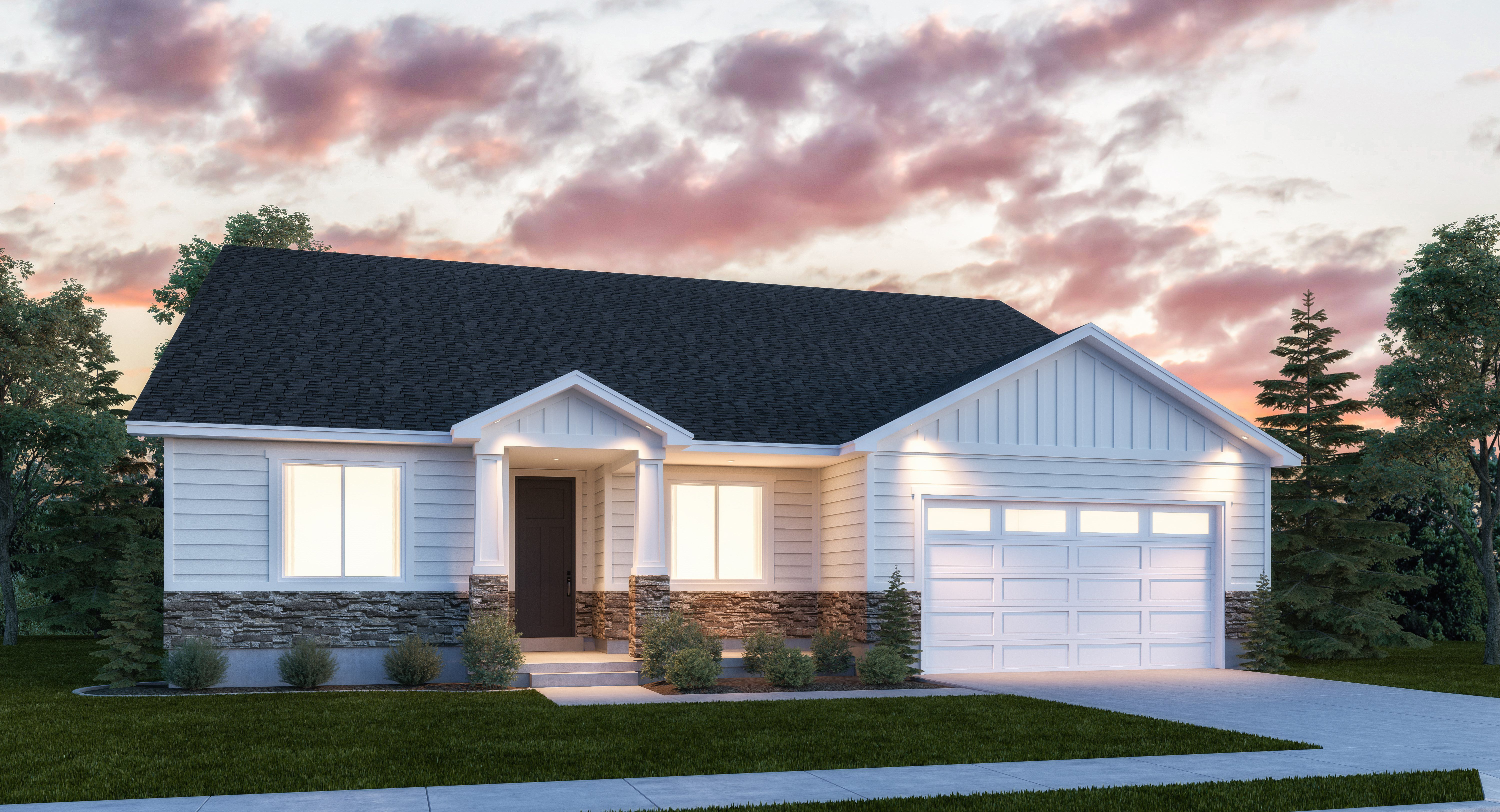 Exterior featured in the Mammoth By Lennar in Salt Lake City-Ogden, UT