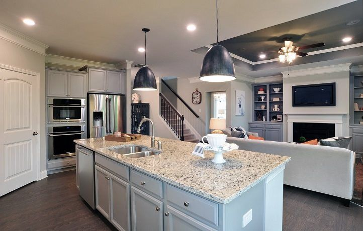 Kitchen featured in the Brunswick By Lennar in Atlanta, GA