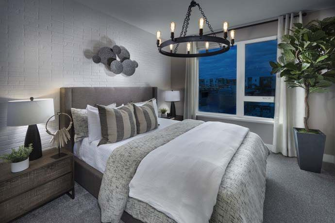 Bedroom featured in the Townhome A By Lennar in San Jose, CA