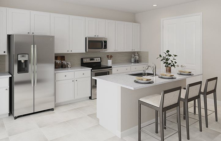 Kitchen featured in the Camellia By Lennar in Palm Beach County, FL