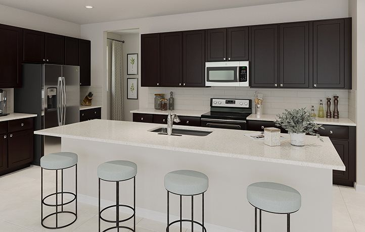 Kitchen featured in the Dahlia By Lennar in Palm Beach County, FL