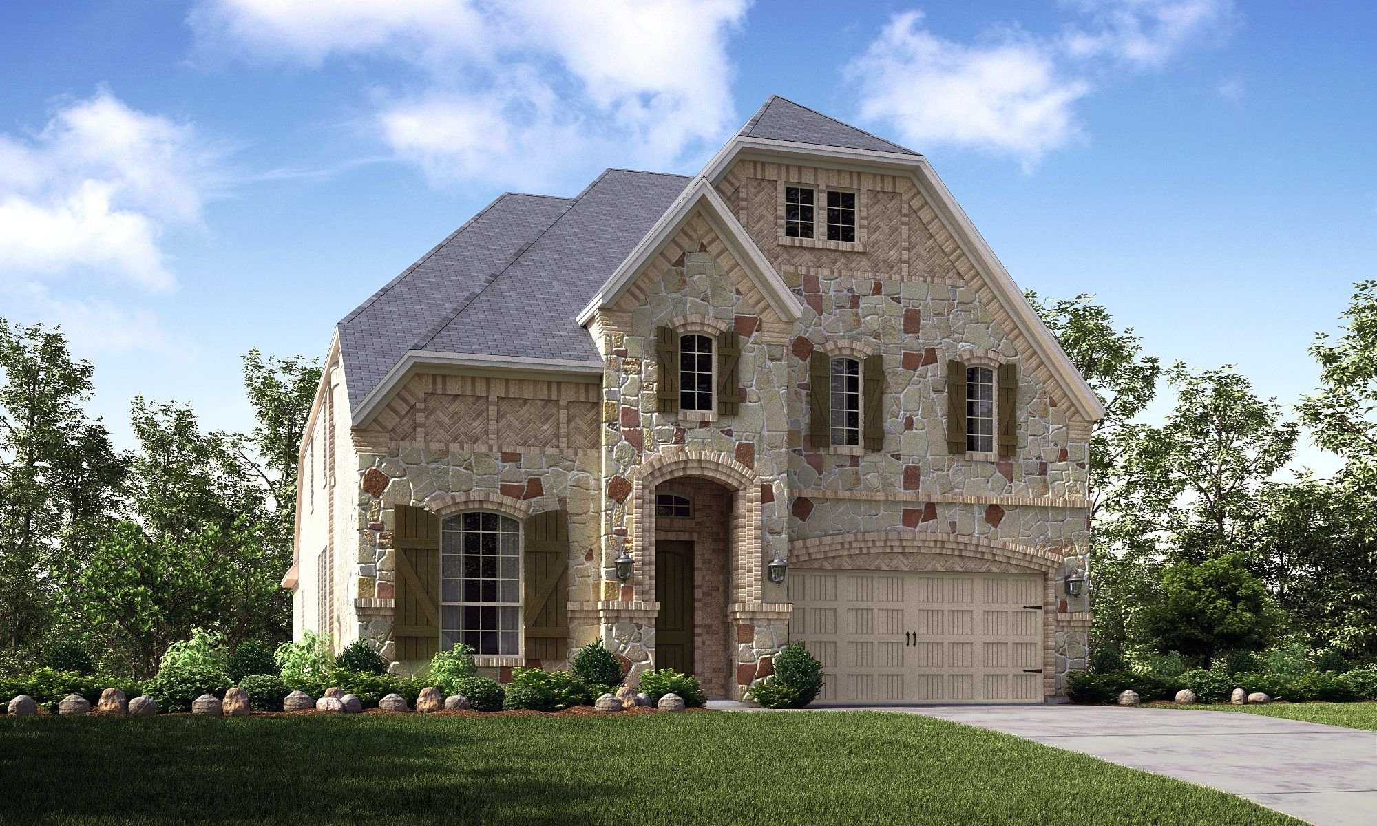 Exterior featured in the Matisse By Village Builders in Dallas, TX