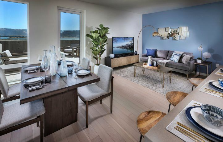 Living Area featured in the 51 Innes Ct. #312 By Lennar in San Francisco, CA