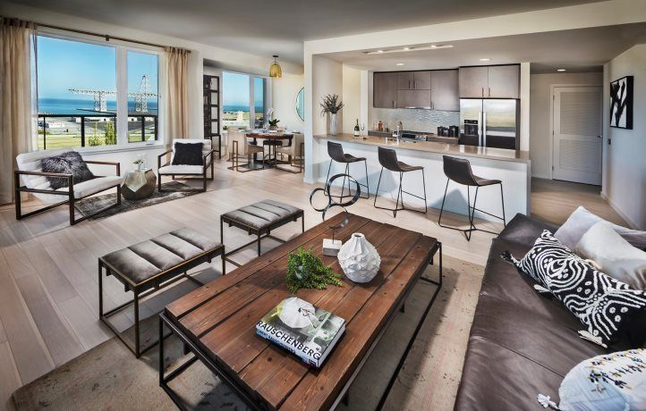 Living Area featured in the 52 Innes Ct. #403 By Lennar in San Francisco, CA