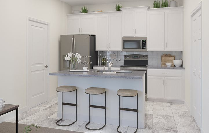 Kitchen featured in the Landcaster By Lennar in Orlando, FL
