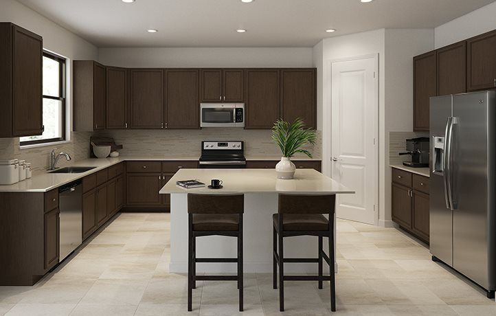 Kitchen featured in the Sage By Lennar in Palm Beach County, FL