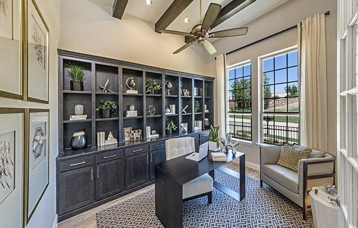 Living Area featured in the Melrose By Village Builders in Fort Worth, TX
