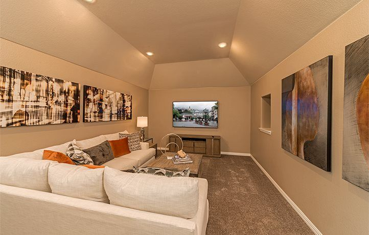 Living Area featured in the Heritage By Village Builders in Dallas, TX