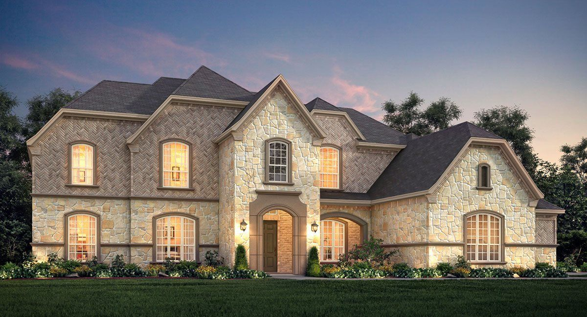 Exterior featured in the Pembroke By Village Builders in Fort Worth, TX