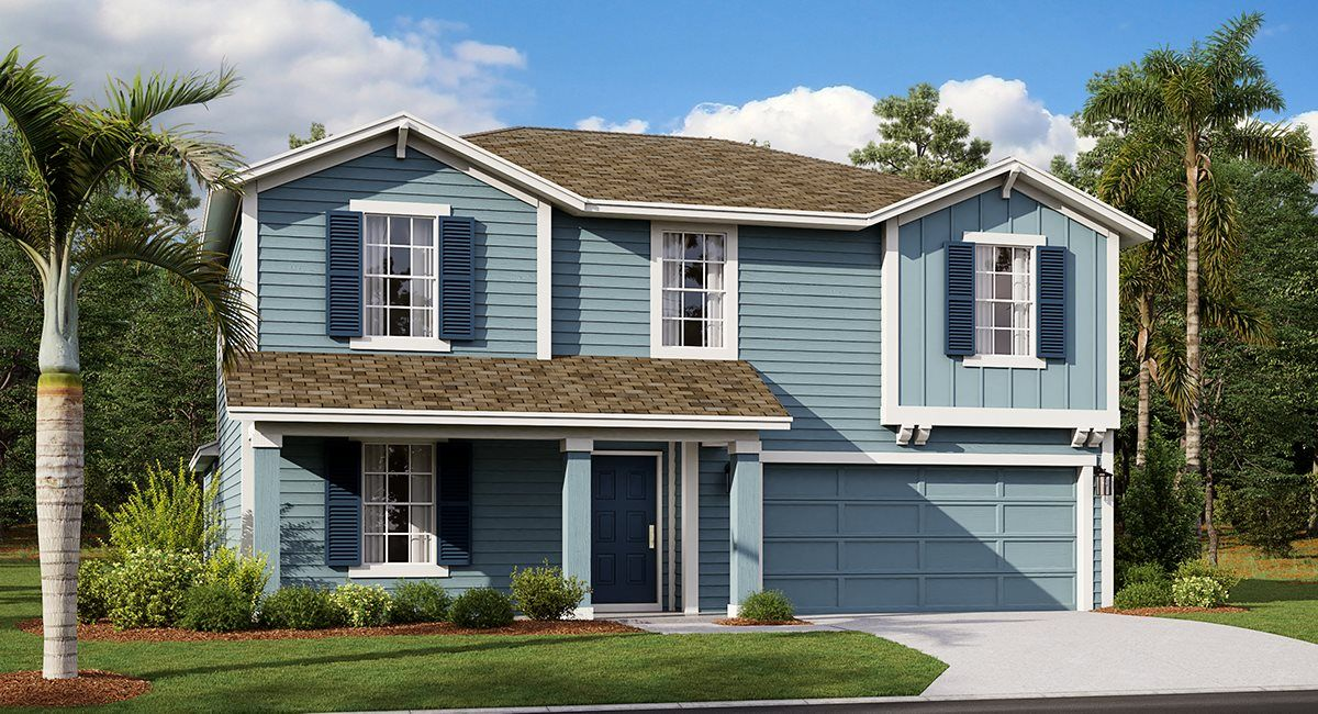Exterior featured in the Heathcliff By Lennar in Lakeland-Winter Haven, FL