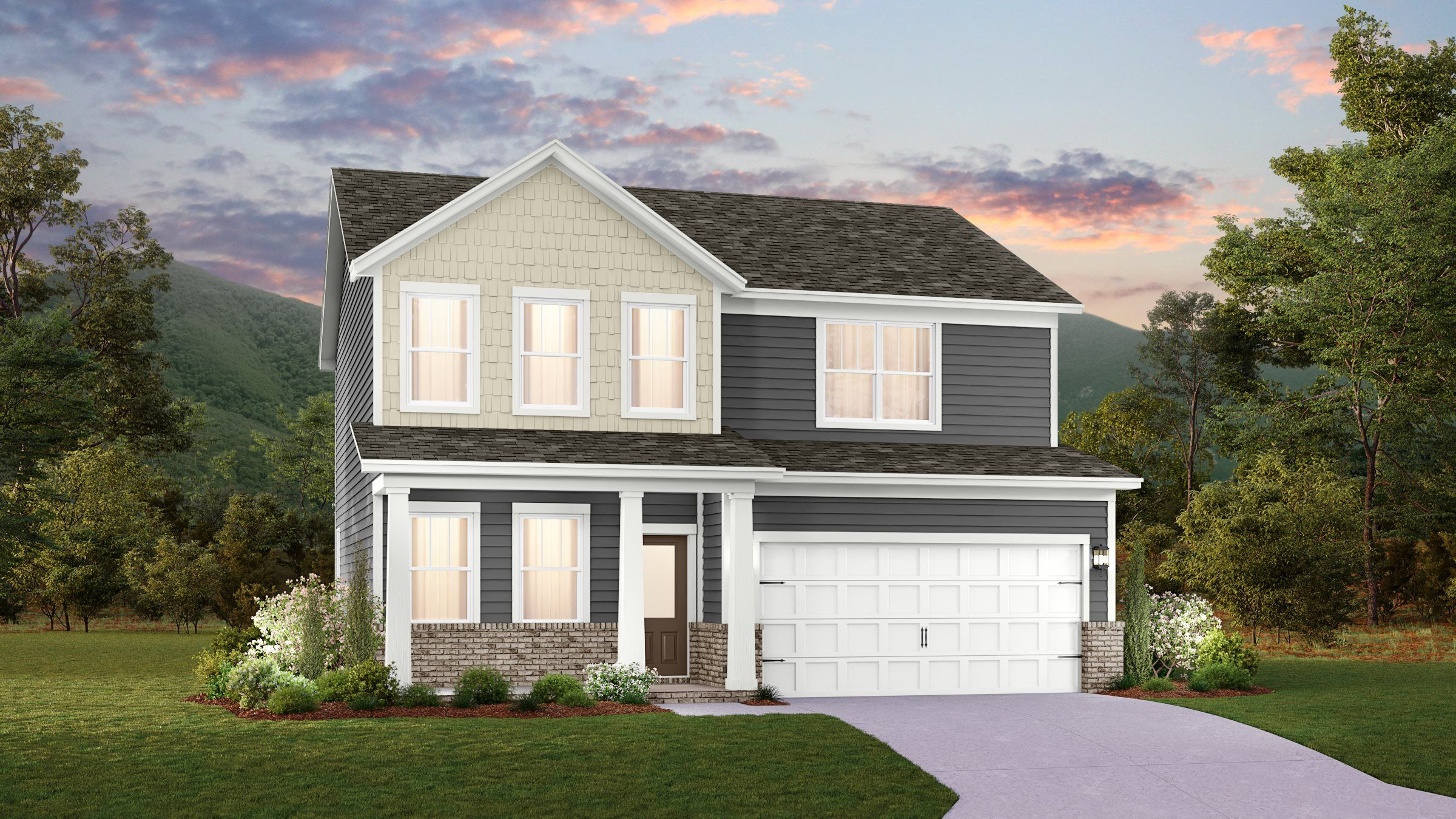 Exterior featured in the Hamilton By Lennar in Nashville, TN