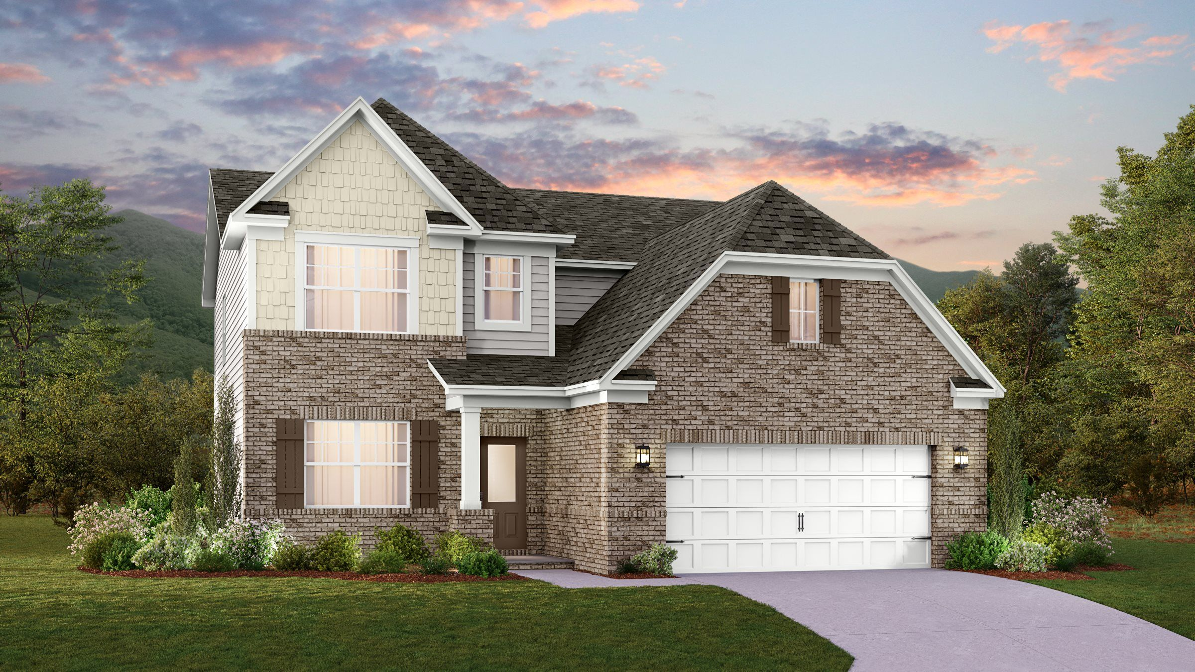 Exterior featured in the Mayflower By Lennar in Nashville, TN