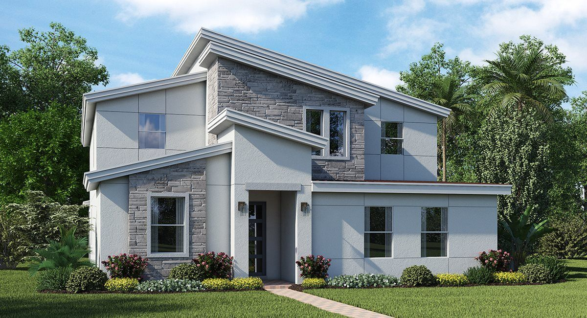 Exterior featured in the Buchanan By Lennar in Orlando, FL