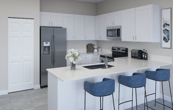 Kitchen featured in the Chestnut By Lennar in Palm Beach County, FL