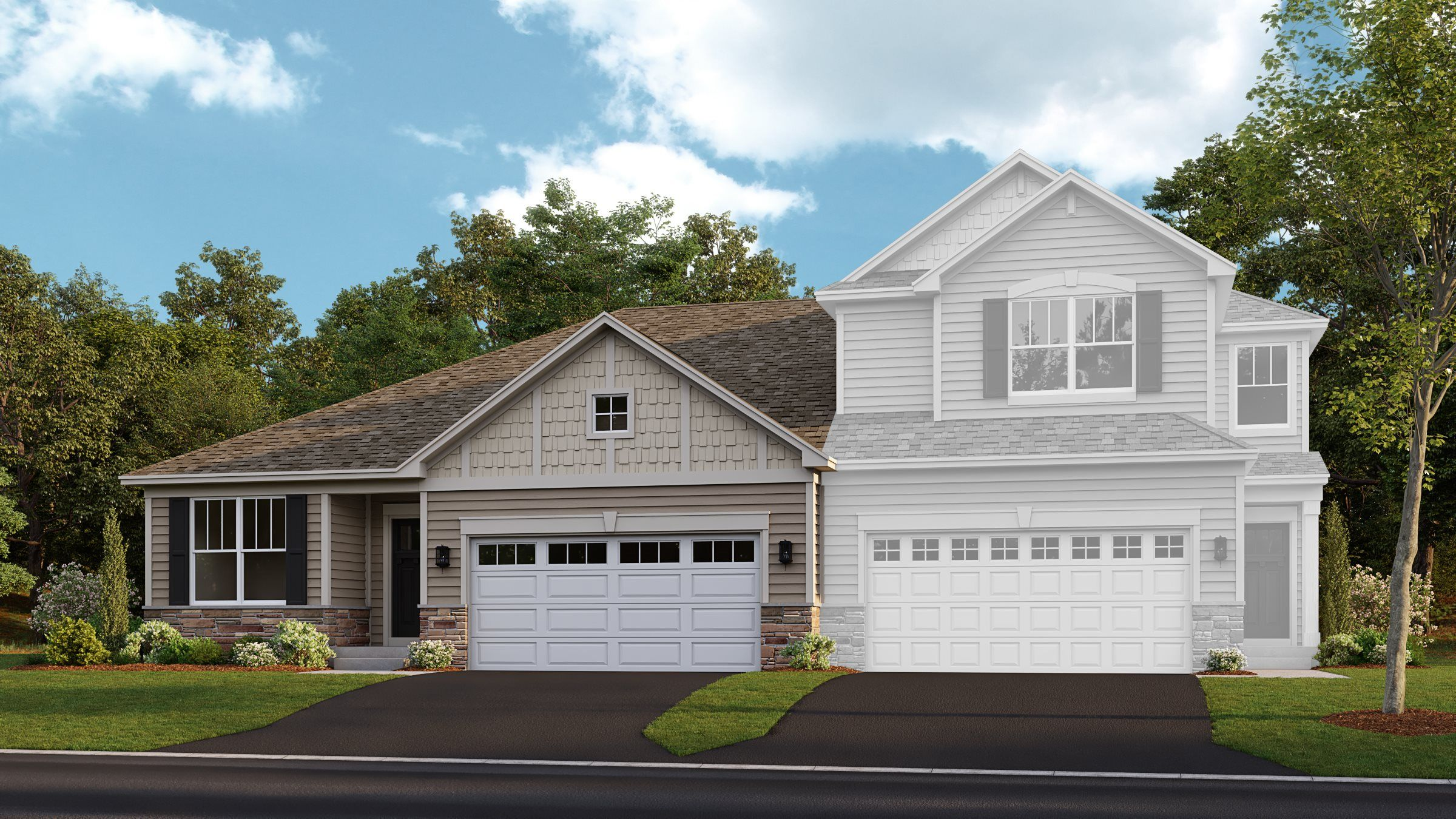 Exterior featured in the Christie ei By Lennar in Chicago, IL