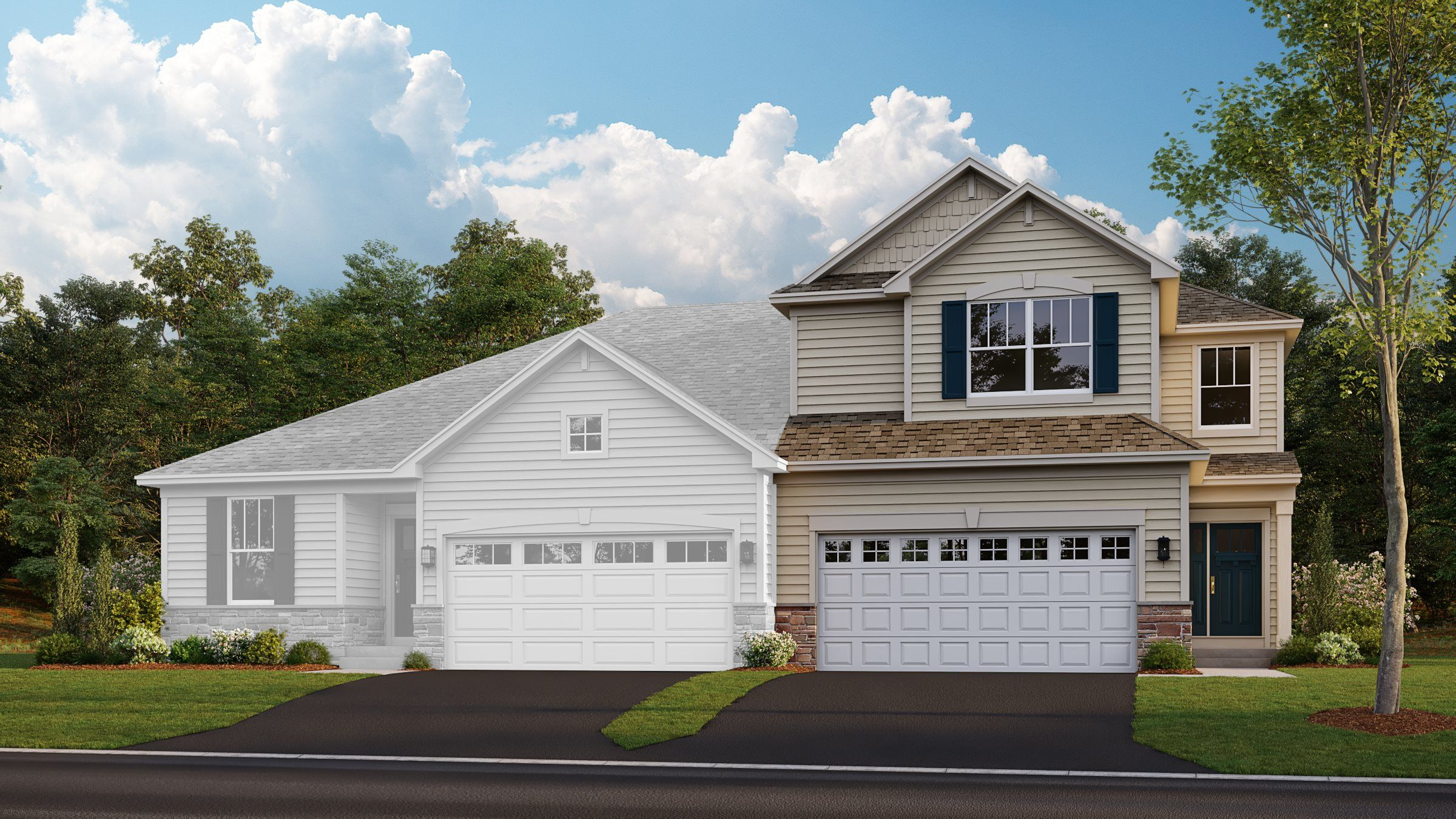 Exterior featured in the Courtney II ei By Lennar in Chicago, IL