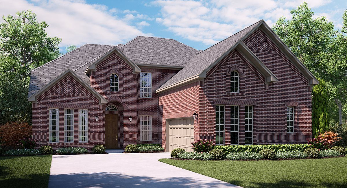 Exterior featured in the Wellington By Village Builders in Dallas, TX